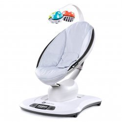 4moms mamaRoo 3.0 дизайн серебро кресло-качалка 4MOMS