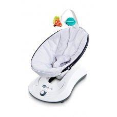 Кресло-качалка 4moms Рокару серебро