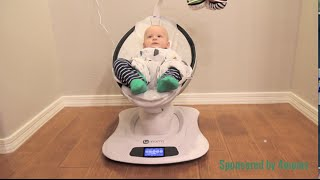 How Fast a mamaRoo Infant Swing Soothes a Baby!